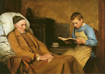 Albert (Albrecht) Samuel Anker, how life in a Swiss XIXth century village was.