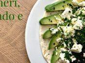 #VEGGYME Tortilla ceci neri, avocado feta