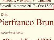 Pirandello Pierfranco Bruni Cosenza Giovedì marzo