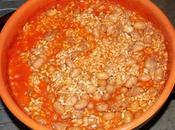 Risotto fagioli salsiccia