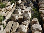 Antichi resti emersi centro Algeri