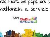 Festa papà montagne mattoncini Museo Omero