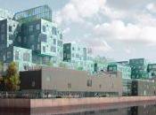 Copenhagen International School vanta facciata solare grande mondo