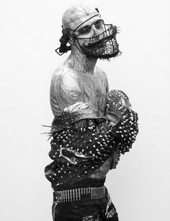 Rick Genest in 'Anatomy of a Murde'r by Steven Klein