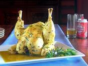 Pollo alla lattina Birra Arrostito Vapore intero pentola pressione!