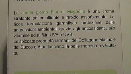 CREMA GIORNO CON FILTRI UVA E UVB FIOR DI MAGNOLIA