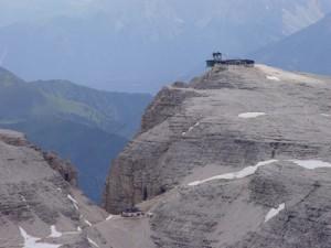 Con la funivia del Pordoi sulla Terrazza delle Dolomiti - Paperblog