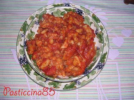 Gnocchi homemade