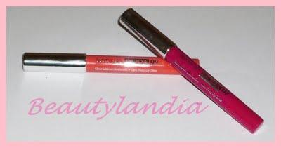 Review Glossy Lips PUPA N° 7 e N° 9