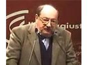 """Non sperate sbarazzarvi Umberto Eco!"""
