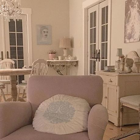 Una bella casa in stile shabby chic paperblog - Casa stile shabby ...