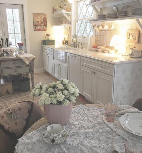 Una bella casa in stile shabby chic paperblog for Costruire una casa in stile cottage
