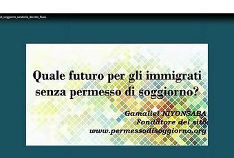 Quale futuro per gli immigrati senza permesso di soggiorno for Regolarizzazione stranieri senza permesso di soggiorno