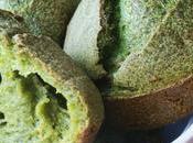 Panini senza glutine agli spinaci