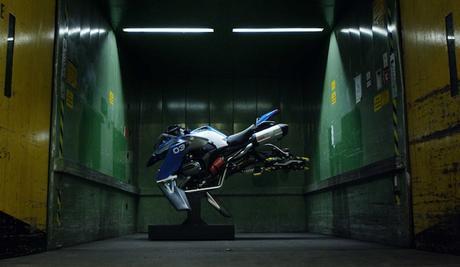 Una moto volante ispirata a LEGO