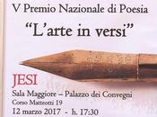 """Premiazione della Edizione Premio Nazionale Poesia """"L'arte versi: Jesi, 12-3-2017"""
