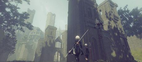 NieR: Automata nel gameplay a 4K | Video