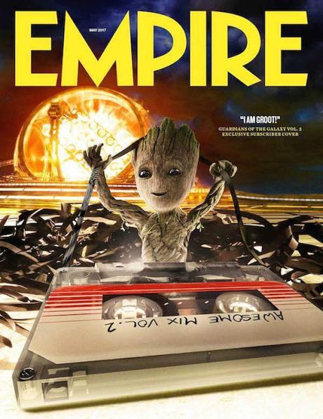 Guardiani della Galassia 2: ecco Baby Groot sulla copertina di Empire!