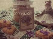 Cookies scented with violets, bringing Spring into your home