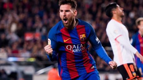 """Ci pensa sempre Leo! Spettacolo al """"Camp Nou"""", il Barça soffre ma batte il Valencia. Real ancora a """"-2""""."""