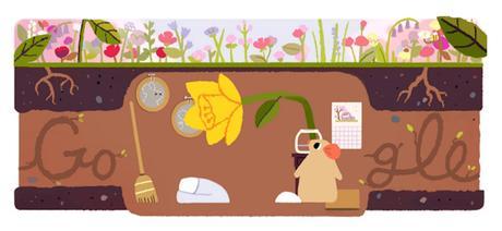 google doodle primavera equinozio 2017