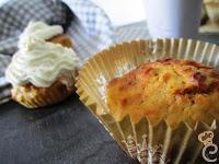 Carrots cupcakes di orzo con creamcheese al cioccolato bianco