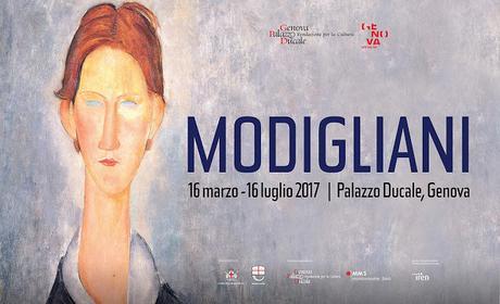 GENOVA CITY GUIDE: Modigliani 16 Marzo - 16 Luglio 2017   Palazzo Ducale