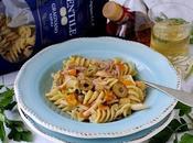 Eliche Rana Pescatrice, Calamaretti, Ciliegini Gialli Olive Cerignola