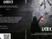 DIECI antologia opere ispirate numero dieci, decimo compleanno dell'associazione culturale BraviAutori