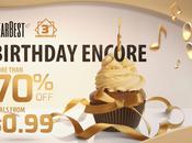 GearBest, sconti offerte centesimi terzo compleanno