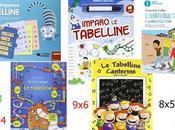 Libri matematica bambini sulle tabelline