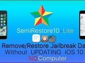 Rilasciato SemiRestore10-Lite conservare Jailbreak dopo ripristino anche 10.2