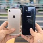 iPhone 7 confrontato con il Galaxy S8