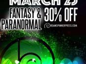 Marzo Sconto fantasy paranormal!