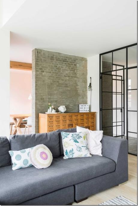 Una casa colonica in stile nordico e industriale paperblog for Piani di casa in stile tradizionale
