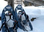 Come camminare ciaspole sulla neve