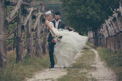 In Trentino un fotografo di matrimoni ecologici