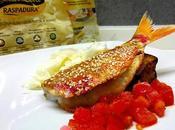 Triglia scottata Raspadura pomodoro melanzana