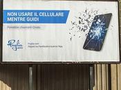 campagna provocatoria contro cellulare alla guida