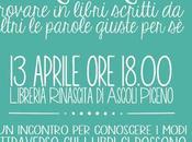 Libroterapia Incontro alla libreria Rinascita Ascoli Piceno