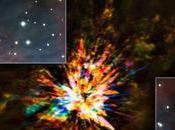 Fuochi d'artificio stellari Alma