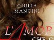 "Giulia Mancini presenta ""L'amore manca"""