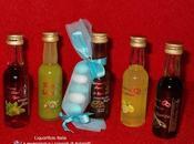 Idea bomboniera: bottiglie mignon liquori
