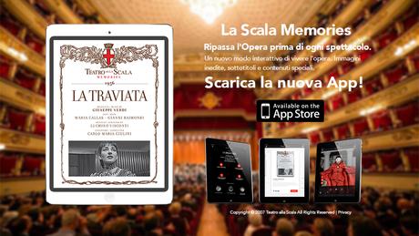 "Nasce la app  ""La Scala Memories"""