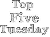"""Five Tuesday: libri """"unici"""" letto"""