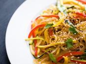 Ricetta spaghetti soia piccanti