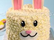 Tutorial Bunny cake: passo torta coniglietto Pasqua