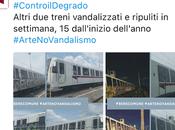 #BENECOMUNE #ARTENOVANDALISMO: ECCO COME ATAC PRENDE CULO CITTADINI VORREBBERO POTER VIAGGIARE TRENI PULITI.