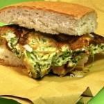 panino imbottito con Frittata di asparagi