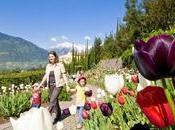 Merano, Giardini Sissi primavera ricca eventi